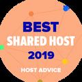 Apbalvotie uzņēmumi, kas atrodas labāko koplietošanas hostu TOP 10 sarakstā.