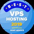 Piešķirts uzņēmumiem, kas atrodas labāko VPS hostingu TOP 10.