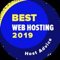 Piešķirts uzņēmumiem, kas atrodas labāko tīmekļa hostu TOP 10.