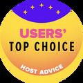 Pieķirts TOP10 tīmekļa hostinga uzņēmumiem ar augstāko lietotāju novērtējumu.